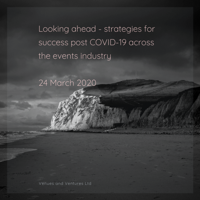 COVID-19: Events industry recovery strategies