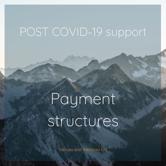 Payment structures and terms